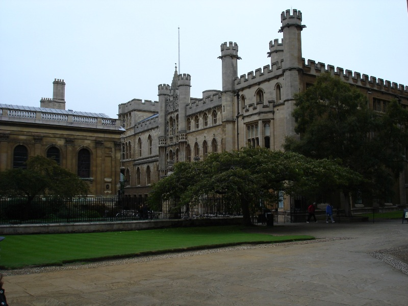 Another college next to the King's College. If you killed me, I wouldn't be able to tell the its name.