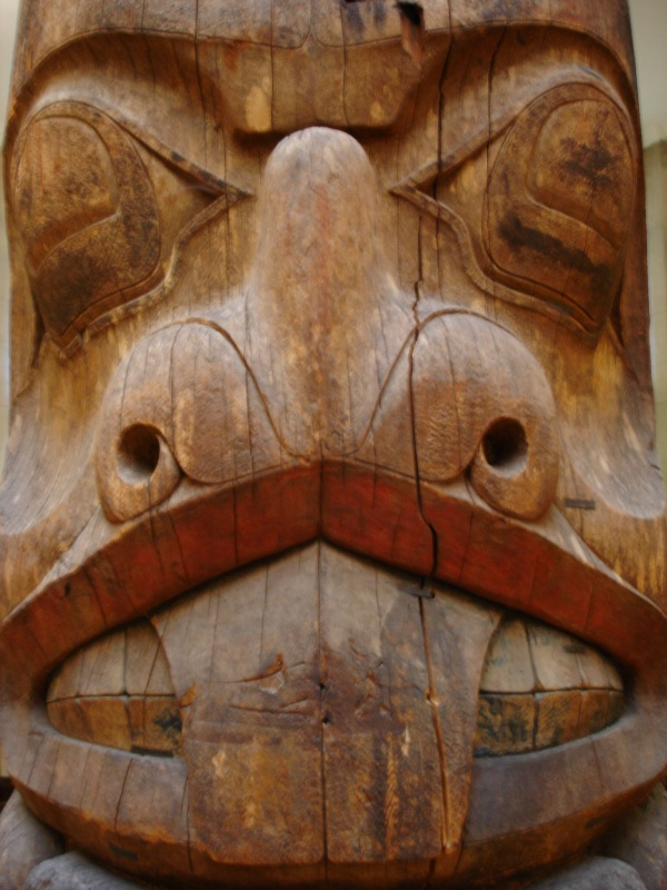 This as detailed look at the totem you could see before.