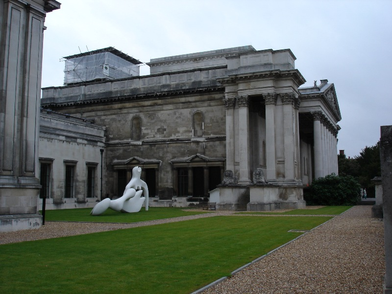Finally something different! This is The Fitzwilliam Musem in Cambridge. Ii should the most famous one in Cambridge.