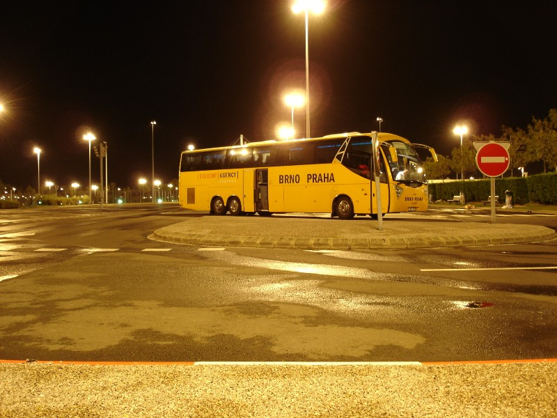 Again our coach. Right now we are waiting in Calais for our train to Great Britain.