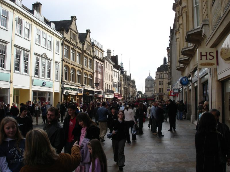 This seemed to be the main campus in Oxford. I'm sorry, I forgot the name of that street, hope you don't minde.